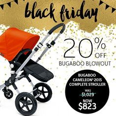 💥💥HOT SALE ALERT!!💥💥 . Shop our Bugaboo Blowout and save 20% on select Bugaboo items! See our site for details.  . Questions? Our baby gear experts have answers - give us a buzz! We'll be here till 11pm EST.  *Restrictions apply - see site for details! . 📱Call 877-PISH-POSH!📱  www.pishposhbaby.com