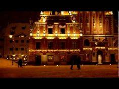 ▶ Decorated for Christmas, Riga (Latvia) at night - YouTube
