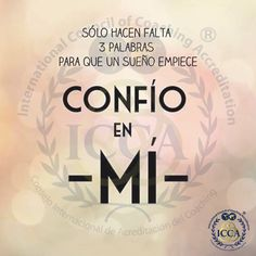 Confío en MI Keep Calm, Coaching, Tips, Words, Training, Stay Calm, Relax