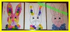 Cute Easter Bunny craft for kids. Includes suggestions to make it a teachable moment.