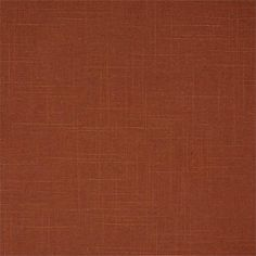 Paprika Burnt Orange color in 100% Belgian Linen for fabric by the yard or custom window treatments: draperies, roman shades, top treatment designs like cornice toppers, swags and valances | BestWindowTreatments.com