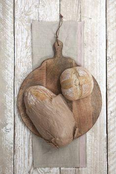 Mango Wood round piz