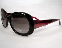 Vera Wang 259 Black Sunglasses Women Eyeglasses Eyewear Frames Designer | eBay