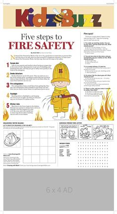 Teach kids fire safety. Fire Safety For Kids, Fire Badge, Teaching Kids, Attic, Classroom Ideas, Angels, Activities, Education, Party