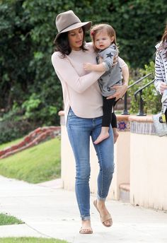 "celebritypassionista: ""Jenna Dewan-Tatum and daughter Everly Tatum are seen in Los Angeles. """