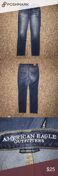 American Eagle High Rise Super Stretch Jegging High rise super Super Stretch Leggings from American Eagle. Perfect condition, barely worn! American Eagle Outfitters Jeans Skinny