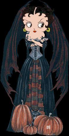 ❤️ BETTY BOOP ❤️BOO!..HAPPY HALLOWEEN!!!  Halloween Vamp