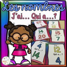 "Nombres 0-20 - jeu ""j'ai... qui a...?"" - French Numbers Activity Games, Activities, French Numbers, Number Games, Jouer, Teaching, Math, Grade 2, Languages"