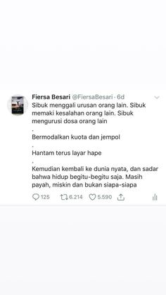 Please urus urusanmu sendiri Bad Mood Quotes, Daily Quotes, Reminder Quotes, Self Reminder, Le Words, Wisdom Quotes, Life Quotes, Text Quotes, Qoutes
