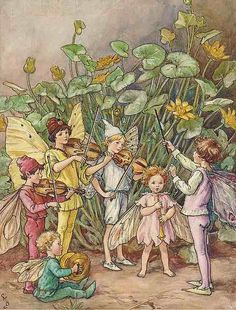 The Fairy Orchestra. ~ Cicely Mary Barker ~