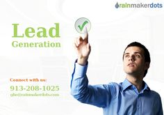 Get now best sales #leadgeneration services at Rainmakerdots.