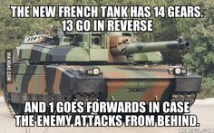 France developed a new tank. Faster and way better.