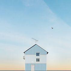 Las bellas y solitarias casas de Sejkko (Yosfot blog)
