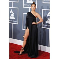 In Anthony Vaccarello - At the 55th Grammy Awards, 2013