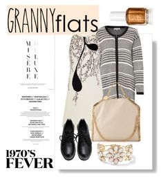 """granny flats: part deux"" by sabrina-fatma-ahmad ❤ liked on Polyvore featuring Great Plains, Giambattista Valli, STELLA McCARTNEY and grannyflats"