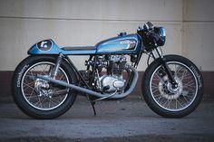 Japanese Oldspeed - Rooshers Honda CB250GT Cafe Racer via returnofthecaferacers.com
