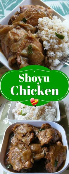 Here's an easy shoyu chicken recipe that's tasty and simple to make. Get more favorite island style recipes here.
