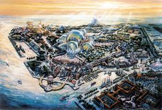 epcot concept art - Google Search