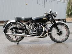 "Wow, - a Vincent ""Black Shadow""."