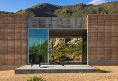 Casa en el desierto de Sonora by Dust Architects  (EUA) #architecture
