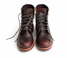 "The Original Chippewafor J. Crew // Brown boots 1930s style // """"worked then, works now"""