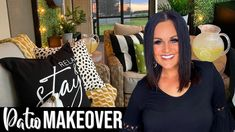 Patio Makeover, Back Patio, Curb Appeal, Exterior, Youtube, Backyards, Lawn, Outdoor Living, Landscaping