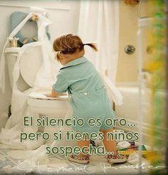 Los niños y el silencio- www.vinuesavallasycercados.com