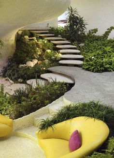Contemporary garden patio living home decor gardens plants flowers diy outdoor house modern inspiration