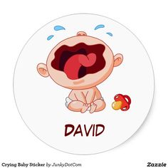 Crying #Baby Sticker - June 19