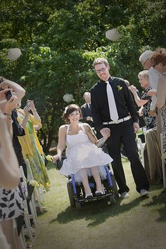 helpful post about planning a wedding for brides, grooms or guests in wheelchairs ~ I miss you so much. I wish you were still here with me. I thought this might come in handy some day.
