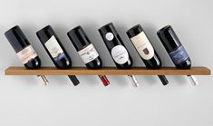 Jeri's Organizing & Decluttering News: Where to Store the Wine? Try the Wall!