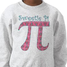 Sweetie Pi Tees at Zazzle!