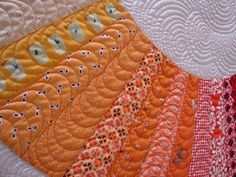 Jacquie does lots of amazing quilt designs on modern quilts.. see more of this piece here tallgrassprairies...