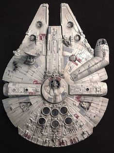 My Bandai Perfect Grade Millennium Falcon -finished! Click this image to show the full-size version. Images Star Wars, Star Wars Pictures, Star Wars Fan Art, Lego Star Wars, Star Trek, Nave Star Wars, Star Wars Spaceships, Star Wars Personajes, Star Wars The Old