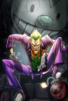 "gowithasmile: ""The Joker by Eddie Nunez "" Joker Dc Comics, Joker Comic, Dc Comics Art, Der Joker, Jokers Wild, Joker Images, Joker Game, Batman Vs, Gotham Batman"