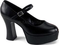 Funtasma - Maryjane-50 Black Matte - Buy Online Australia Beserk