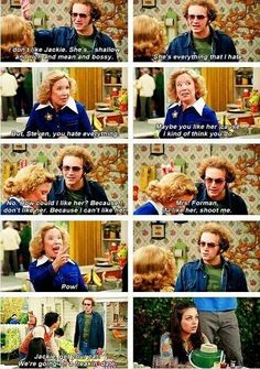 Hyde and Kitty talking on That 70's Show