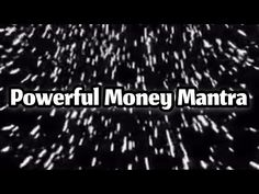Powerful Money Mantra - YouTube Job Application Cover Letter, Mantra, The Creator, It Works, Lettering, Money, Youtube, Drawing Letters, Letters