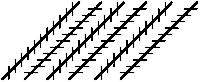 Are the lines below straight or crooked?    Hold something straight up next to them to check.