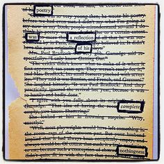 Describing Darkness: Make Black Out Poetry, Black Out Poetry, Poetry