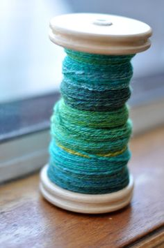 Congratulations, you've finished spinning a bobbin full of yarn! What do you need to do to get it ready to knit, crochet, or weave? Here are some final steps for finishing your handspun yarn.