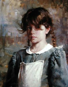 weistling: valerie by deflam, via Flickr -repinned by http://LinusGallery.com #art #artists #oilpainting