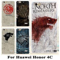 Soft TPU Hard plastic Game Thrones Phone Cases For Huawei Honor inch Huawei G Play Mini Cases Cover Game Thrones, Sword Art Online, Mini, Play, Otaku, Anime Art, Phone Cases, Starwars, Cover
