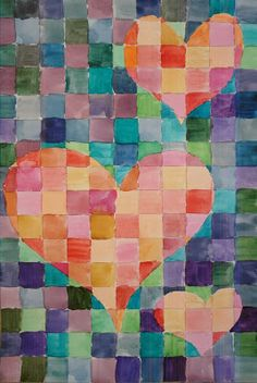 This is a watercolour project I recently taught to a Grade 8 class. It is useful for reviewing warm and cool colours as well as for learni...