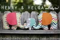 Free Pattern & Tutorial: Henry & Helga Plushies