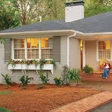 Image result for front door color for orange brick house