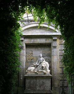 Gardens of Compiegne, France