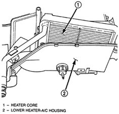 How Do I Remove The Dash In A 2000 Jeep Cherokee Need To Replace Heater Core And Airconditioner Evaporator Answered By Verified Auto