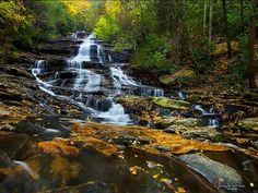 Minnihaha Falls - North Georgia Mountains