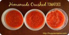 How to Make Homemade Crushed Tomatoes